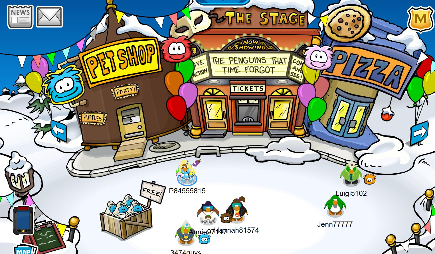 club penguin games with puffles