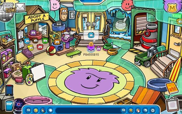 The Puffle Shop Update 13 CP